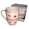 Caneca Porcelana Decorada<br> Cód: 51766