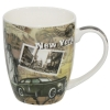 Caneca Porcelana Decorada <br> Cód: 69819